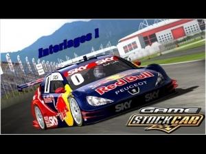 Game Stock Car 2012 - Peugeot 408 Red Bull Racing @ Interlagos 1 - 5 laps