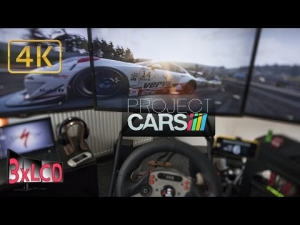Project CARS | Porsche SupercCup at Spa | weather cycle | Triple Screen in Ultra 4K onboard
