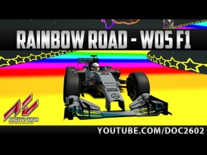 Assetto Corsa | Rainbow Road - Mercedes W05 | HD