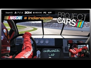 Project CARS Onboard - (Ultra Settings) NASCAR @ Indianapolis Motor Speedway