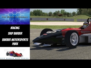 iRacing Official Skip Barber race from Barber Motorsports Park - First ever race at this track