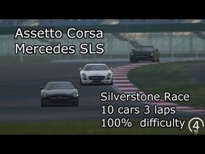 Assetto Corsa - Mercedes SLS Silverstone Race