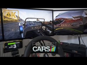 Project CARS | most realistic game view | Caterham at California Highway | Ultra 4K