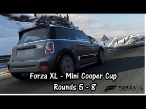 Forza XL - Mini Cooper Cup - Rounds 5 to 8