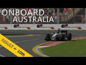 PSRL F1 2013 | Australia Grand Prix | Balazs Toldi Onboard