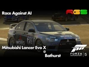 Forza Motorsport 5 | Mitsubishi Lancer Evo X | Bathurst | Rally Production Race | Impeza vs Lancer