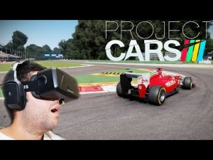 Oculus Rift DK2 - Project CARS - Formula 1 @ Monza