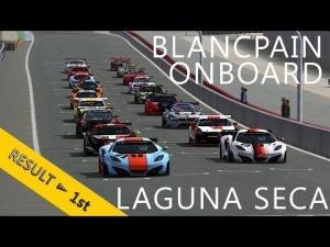 2 Hours of Laguna Seca | PSRL Blancpain Endurance Series 2013 | Balazs Toldi OnBoard