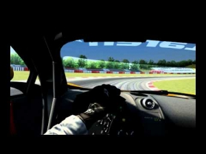 Assetto Corsa || McLaren MP4-12c GT3 hotlap around Nürburgring 1.55.550