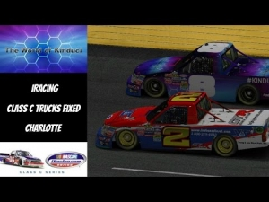 iRacing Official Class C fixed at Charlotte Motor Speedway - I called it!