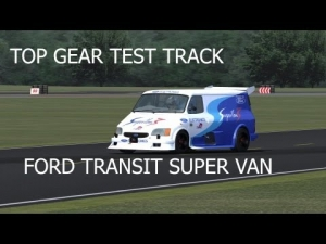 Ford Transit Super Van 1995 | Top Gear Test Track