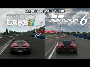 Project CARS Vs GT6  - Pagani Huayra @ Nordschleife