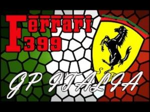 F1 2013   GP de Italia   Eddie Irvine   Ferrari F399 Onboard