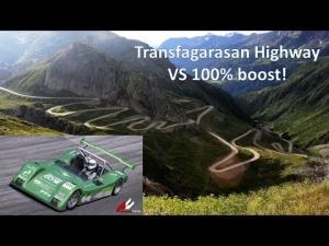 The best driving Road - Transfagarasan vs Kutch 2000sl - Assettocorsa MOD