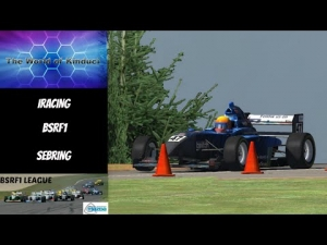 iRacing BSRF1 Season 2 Round 6 from Sebring - Good recovery drive