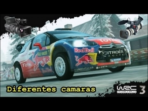 WRC 3 - Citroen DS3 @ different cameras