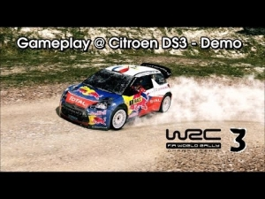 WRC 3 - Gameplay @ Citroen DS3 - Demo
