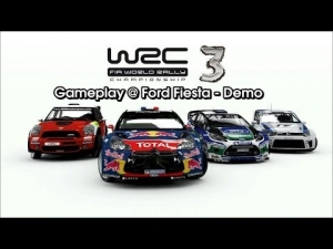 WRC 3 - Gameplay @ Ford Fiesta - Demo