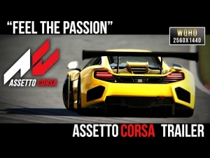 [ Assetto Corsa ] Feel The Passion | Trailer | 2560x1440 Resolution