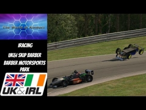 iRacing UK&I Skip Barber League Race Season 3 2014 Round 6 from Barber Motorsports Park