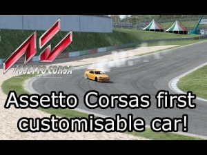 Assetto Corsa - Nissan Skyline R34 Customisable Drift car