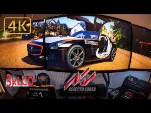 Assetto Corsa | *NEW* Mercedes SLS at RING | simracing in fisheye | Triple Ultra 4K