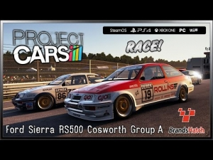 Project CARS Race! - (Ultra Settings) Ford Sierra RS500 Cosworth @ Brands Hatch