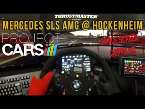 Project CARS - Mercedes-Benz SLS AMG @ Hockenheim