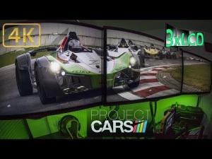 Project CARS | simracing heaven | BAC Mono at rainy Imola | Triple Ultra 4K