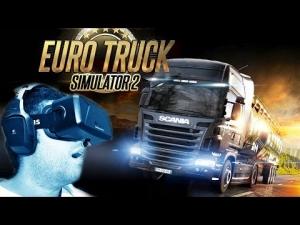 Oculus Rift DK2 - Euro Truck Simulator 2 Review