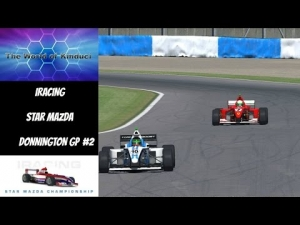 iRacing Star Mazda Official race at Donnington GP - Cracking race after early spin