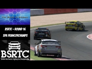 iRacing BSRTC Season 6 Round 16 from Spa Francorchamps - Your having a laugh!