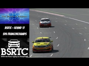 iRacing BSRTC Season 6 Round 17 from Spa Francorchamps - Your having a laugh!