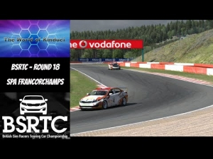 iRacing BSRTC Season 6 Round 18 from Spa Francorchamps - Oops i did it a again!