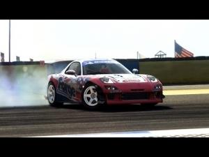 [GRIDAutosport] Autosport Raceway(Drift Circuit) - MAZDA RX7(FD3S)