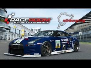 RaceRoom Racing Experience [HD++] ★ Nissan GT-R GT3 #45 Schulze Motorsport @ Nürburgring GP