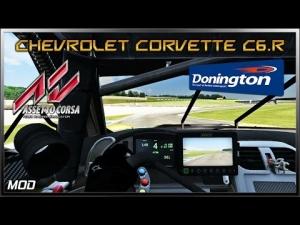 Assetto Corsa - Donington Park (Lap + Replay) # Chevrolet Corvette C6.R