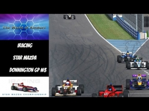 iRacing official Star Mazda series at Donnington GP - 13th to 5th