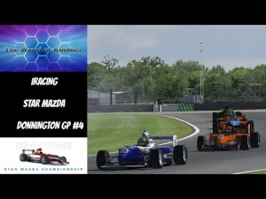 iRacing Star Mazda Official race at Donnington GP - 13th to 3rd
