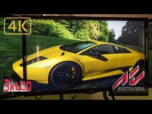 Assetto Corsa | *NEW* Lamborghini Murcielago owned RING | Triple Screen in Ultra 4K onboard