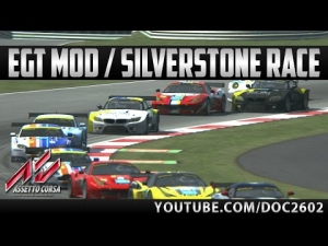 Assetto Corsa | EGT Mod - Silverstone Int. | Race + Replay | HD