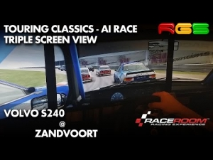 RaceRoom RE | Volvo 240 Turbo | Zandvoort | Triple Screen View