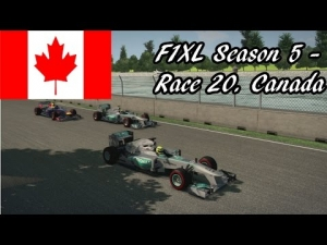 F1XL Season 5 - Race 20. Canada