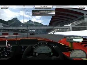 R3E Radical Sr9 AER Xbox controller test