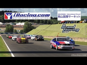 iRacing [HD+] ★ Grand Touring Cup at Okayama International with the Pontiac Solstice Z0K Club Sport