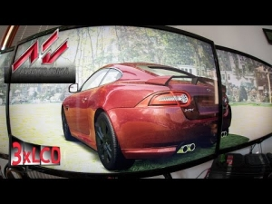 Assetto Corsa | *NEW* Jaguar XKR-S at Transfogarian route | Legal driving | DOWNLOAD LINK