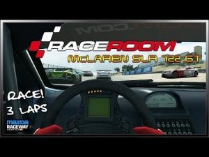 RaceRoom R.E. ~ Race ~ Mercedes-Benz SLR McLaren 722 GT @ Laguna Seca