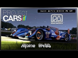 Project CARS - (Ultra Settings) Alpine A450 # Night Lap # @ Road America