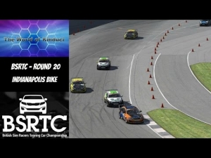 iRacing BSRTC Season 6 Round 19 from Indianapolis Bike Config