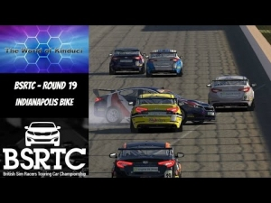 iRacing BSRTC Season 6 Round 20 from Indianapolis Bike Config